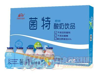 康伴菌特酸奶饮品100mlx5瓶