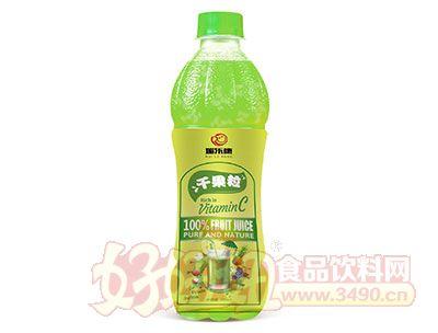 瑞乐康千果粒苹果汁饮料500ml