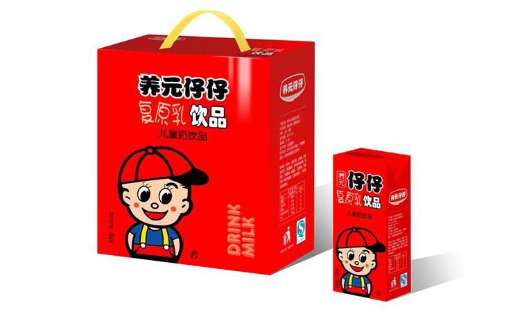 养元仔仔复原乳儿童奶饮品礼盒250ml×12盒