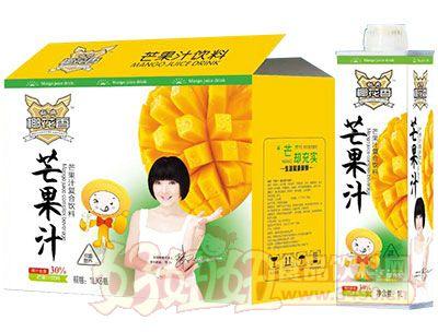 秘典椰花香芒果汁饮料1L×6瓶