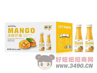慧仁堂冷榨芒果�秃厦⒐�汁�料350mlX15瓶