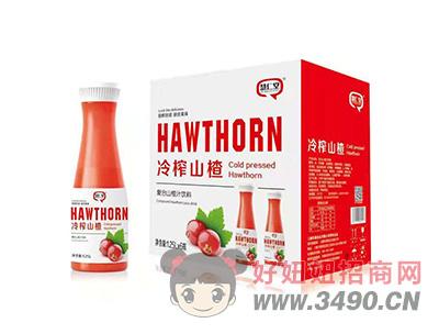 慧仁堂冷榨复合山楂汁饮料1.25LX6瓶