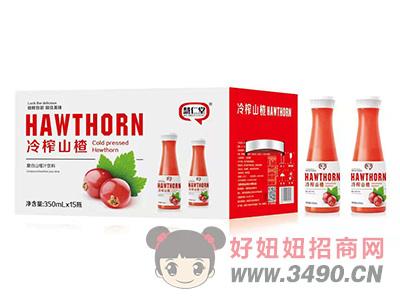 慧仁堂冷榨复合山楂汁饮料350mlX15瓶