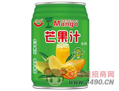 浩园芒果汁饮料240ml
