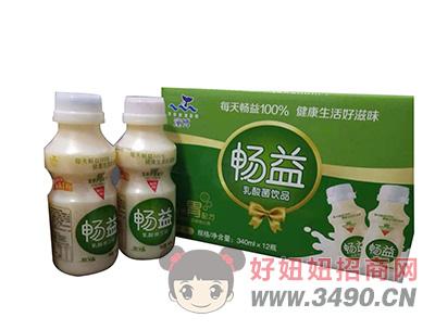 潼博畅益乳酸菌饮品340mlX12瓶