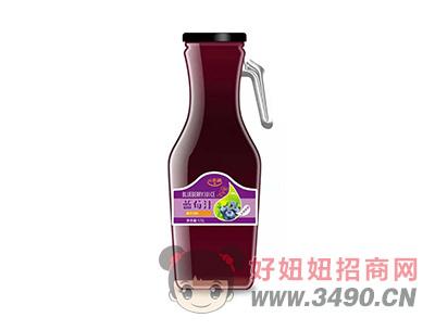 潼博亓乐融蓝莓汁饮料1.5L