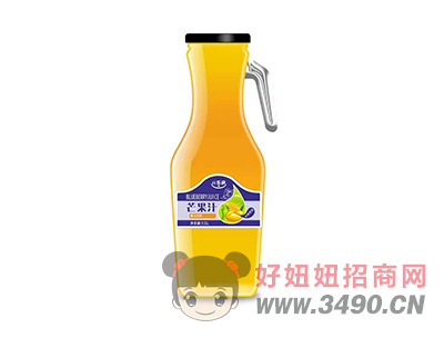 潼博亓乐融芒果汁饮料1.5L