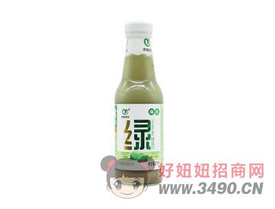 燕塞食品臻粮玻璃瓶绿豆沙饮品275ml