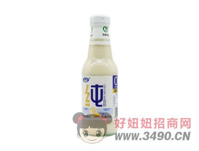 燕塞食品玻璃瓶纯豆奶饮品275ml