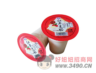 洛之洲红枣豆奶植物蛋白饮料250ml