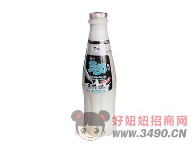 洛之洲有情郎黑豆豆奶植物蛋白饮料瓶装318ml