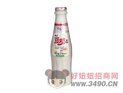 洛之洲有情郎纯正豆奶植物蛋白饮料318ml