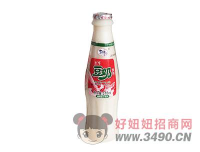 洛之洲有情郎红枣豆奶植物蛋白饮料318ml