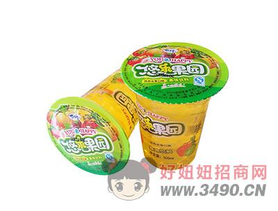 洛之洲悠乐果园果味饮料饮品320ml