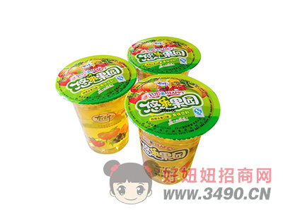 洛之洲悠乐果园果味饮料320ml