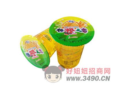 洛之洲果粒型果味饮料杯装