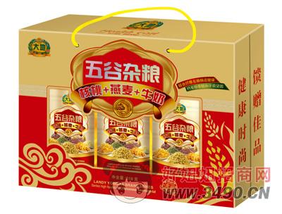 大地五谷杂粮核桃+燕麦+牛奶618g
