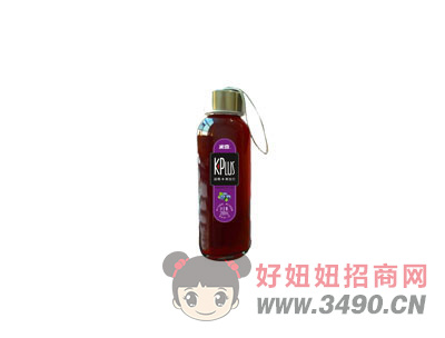 蓝莓+黑加仑复合果汁饮料288mlx10瓶