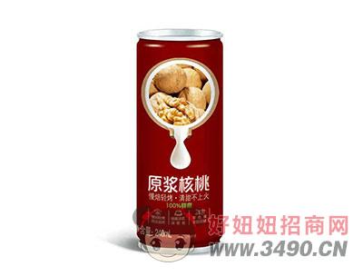 原浆核桃植物蛋白饮料箱装