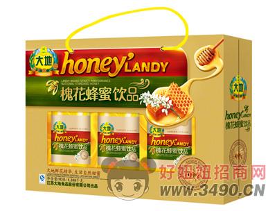 大地槐花蜂蜜饮品1.388kg