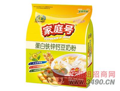 大地家庭号蛋白铁锌钙豆奶粉640