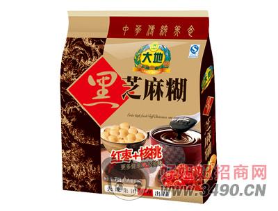 大地红枣+核桃黑芝麻糊708g