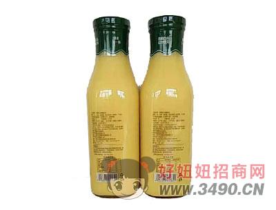�R之果玉米汁1l背面