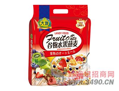大地谷物水果燕麦628g