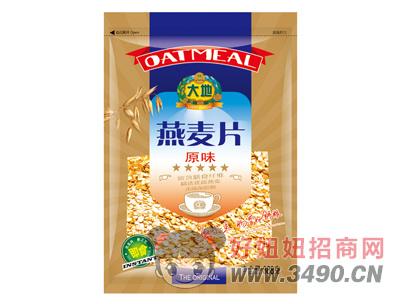大地原味即食燕麦片388g