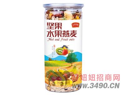 大地坚果水果燕麦400g