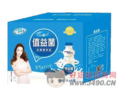 值益菌乳酸菌饮品1lx8瓶原味