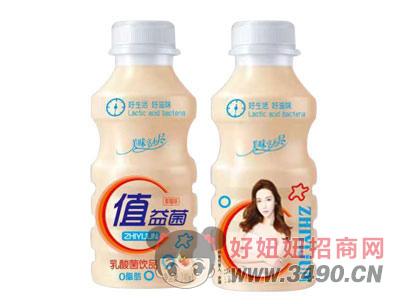值益菌乳酸菌饮品340ml草莓味