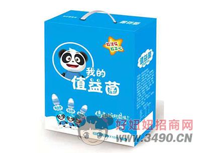 值益菌乳酸菌饮品200mlx16瓶原味蓝
