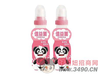 值益菌乳酸菌饮品200ml草莓味
