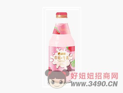 草莓牛乳饮品280ml×12瓶