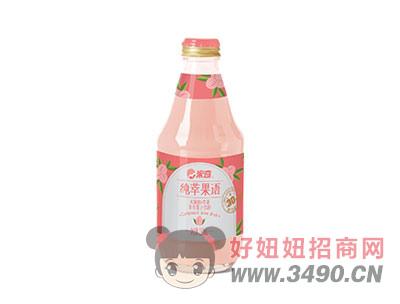 米奇水蜜桃苹果复合果汁饮料280ml×12瓶