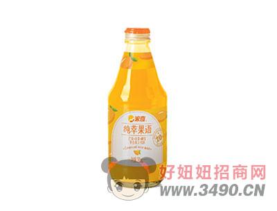 芒果苹果椰浆复合果汁饮料280ml×12瓶