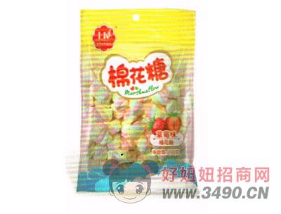 棉花糖草莓味150g