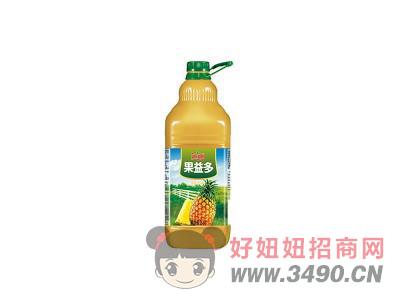 汇源果益多菠萝复合果汁饮料2.5L