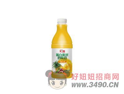 汇源热情一夏 复合果汁饮料1.1L