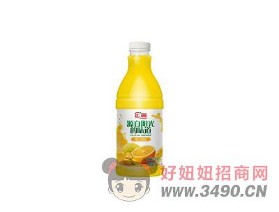 汇源复合果汁饮料 橙心四溢1.1L