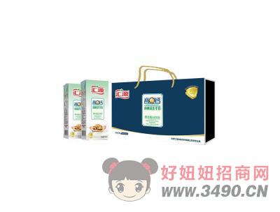 汇源高钙核桃花生牛奶 礼袋装250mlx12盒