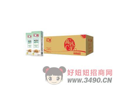 汇源高钙核桃花生牛奶250mlx40盒
