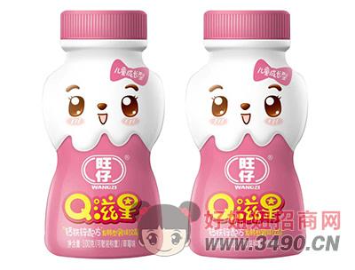 旺仔Q滋星草莓味儿童成长发酵型乳味饮品100g