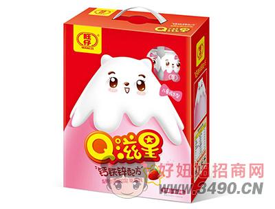 旺仔Q滋星草莓味儿童成长发酵型乳味饮品2kg