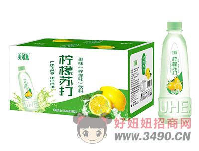 美果派柠檬苏打果味饮料500mlx15瓶