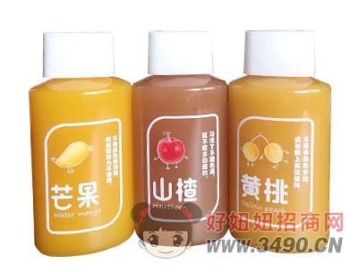 美果派芒果山楂黄桃果汁350ml