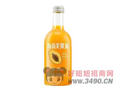 海南美果派木瓜果汁