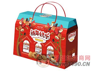 皖汪师傅新年快乐饼干礼盒