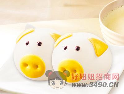 千味央厨卡通猪猪包